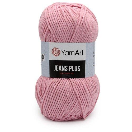 Пряжа YarnArt 'Jeans Plus' 100гр 160м (55% хлопок, 45% полиакрил) (36 розовый), 5 мотков пряжа yarnart пряжа yarnart jeans plus цвет 53 черный