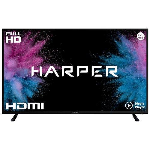 Фото - Телевизор HARPER 43F660T 43 (2017), черный led телевизор harper 43 f 660 ts