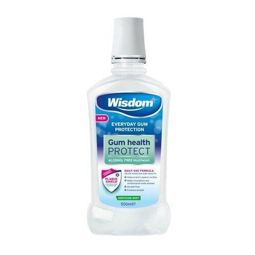 Купить Gum Health Prot Antibacterial Mouthwash. Ополаскиватель антибактериальный для полости рта от пародонтоза с хлоргексидином., Wisdom