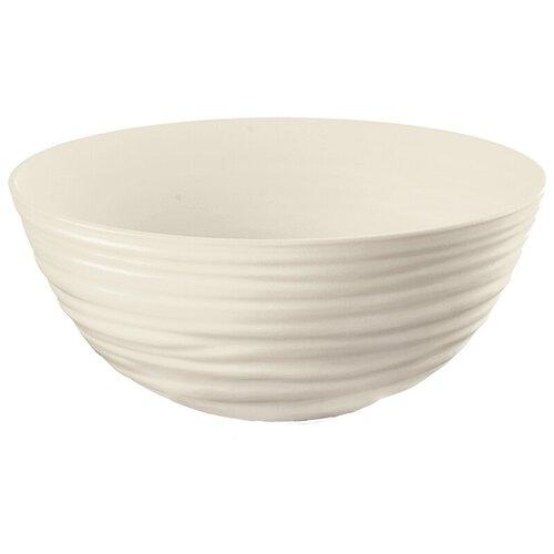 Миска Tierra 25 см молочно-белая Guzzini 175025156