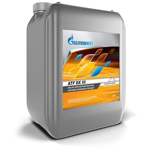 Масло трансмиссионное Газпромнефть ATF DX III, 20 л