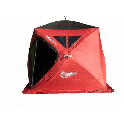 Фото - Палатка Canadian Camper BELUGA 3 красный палатка canadian camper rino 3 цвет forest