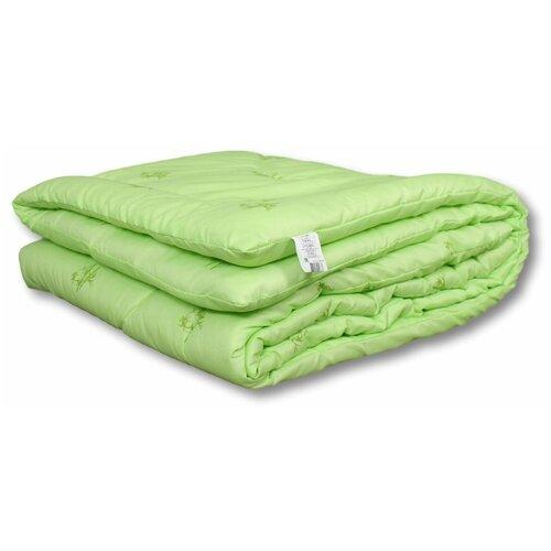 Фото - Одеяло АльВиТек Bamboo, всесезонное, 172 х 205 см (светло-салатовый) одеяло альвитек холфит комфорт в чемодане всесезонное 172 х 205 см фиолетовый