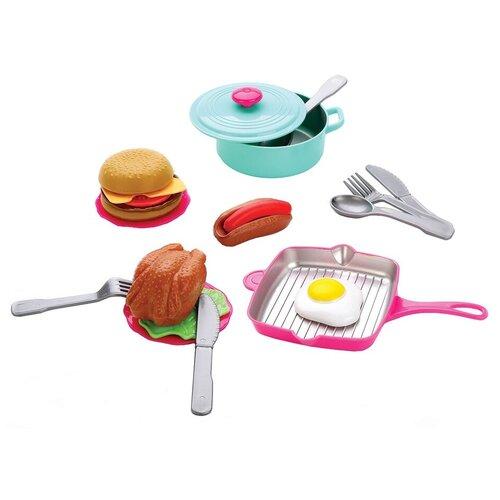 набор продуктов с посудой mary Набор продуктов с посудой Mary Poppins Учимся готовить 453157 голубой/красный