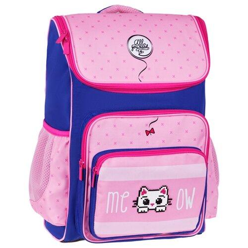 Фото - ArtSpace ранец Happy School Kitty (Uni_17681), розовый/синий artspace ранец school friend super cool синий