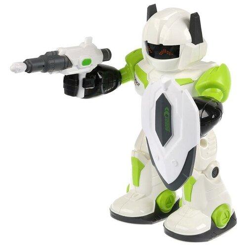 Купить Робот Технодрайв Роботрон 1712B250R, белый/зеленый, Роботы и трансформеры
