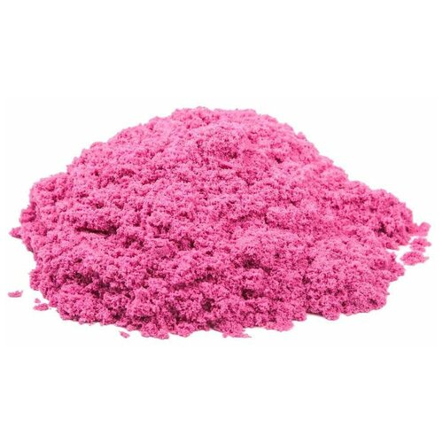 Купить Кинетический песок Космический песок базовый, розовый, 3 кг, пластиковый контейнер