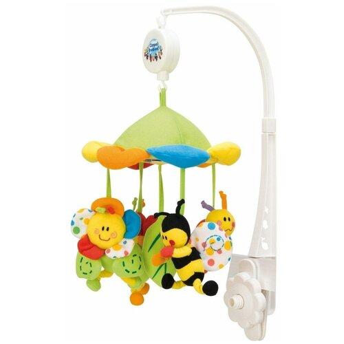 Купить Механический мобиль Canpol Babies Цветущий луг (2/984) белый, Мобили