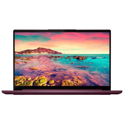 "Ноутбук Lenovo Yoga Slim 7 14ITL05 (Intel Core i7 1165G7/14""/1920x1080/16GB/512GB SSD/Intel Iris Xe Graphics/Windows 10 Home) 82A3004XRU orchid"