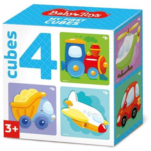 Кубики-пазлы Baby Toys Транспорт 03542