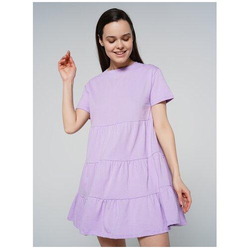 Платье ТВОЕ 80604 размер XL, сиреневый, WOMEN