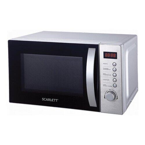 Микроволновая печь SCARLETT SC-MW9020S10D 20 л 700 Вт электронное управление таймер серебро