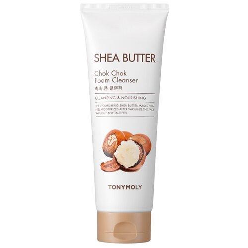 TONY MOLY пенка для умывания Shea Butter Chok Chok Foam Cleanser, 250 мл tony moly the chok chok green