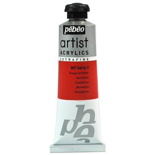 Краски акриловые PEBEO Artist Acrylics extra fine №3 37 мл 908-307 ало-красный