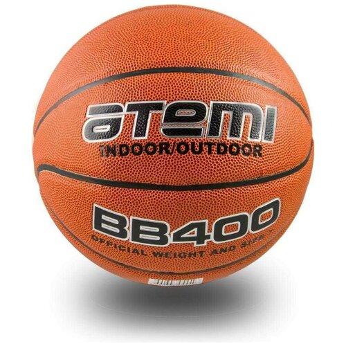 Баскетбольный мяч ATEMI BB400, р. 7 оранжевый