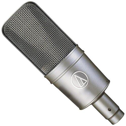 Микрофон Audio-Technica AT4047SVSM, серебристый