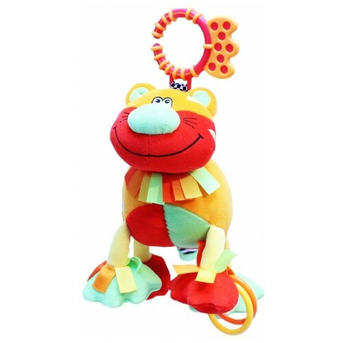 Фото - Подвесная игрушка ROXY-KIDS Тигрёнок Бонс (RBT20002) развивающая игрушка roxy kids на руку с прорезывателем совенок угу rbt20024