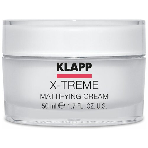 klapp x treme super lipid cream Klapp X-Treme Mattifying Cream Крем матирующий для лица, 50 мл