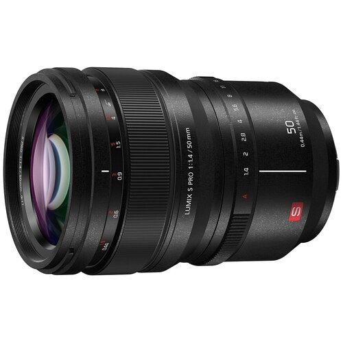 Объектив Panasonic 50mm f/1.4 Lumix S PRO черный