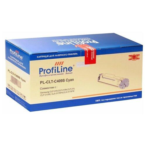 Картридж ProfiLine PL-CLT-C409S-C совместимый