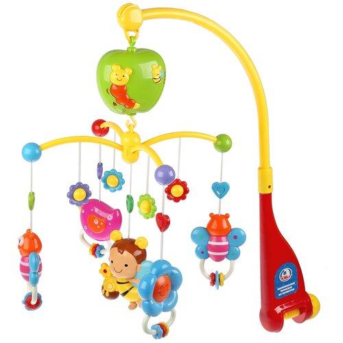 Фото - Электронный мобиль Умка GW6918-R желтый/красный игрушка для ванной умка бегемотик b1410463 r красный желтый зеленый