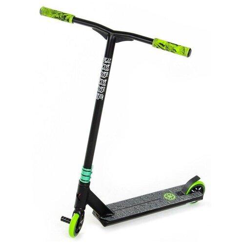 Детский трюковой самокат Explore Leidart 500 LT New, зеленый