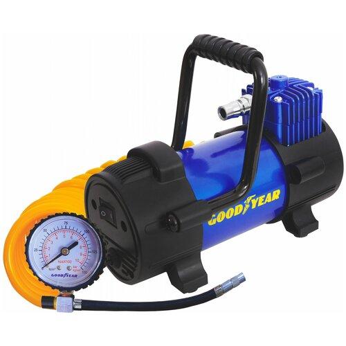 Автомобильный компрессор GOODYEAR GY-40L черный/синий