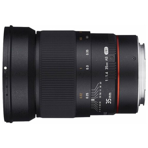 Фото - Объектив Samyang 35mm f/1.4 ED AS UMC AE Canon EF объектив samyang 50mm f 1 4 as umc canon ef