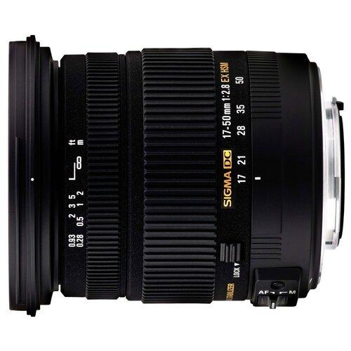 Объектив Sigma AF 17-50mm f/2.8 EX DC OS HSM Nikon F объектив sigma af 60 600mm f 4 5 6 3 dg os hsm s nikon
