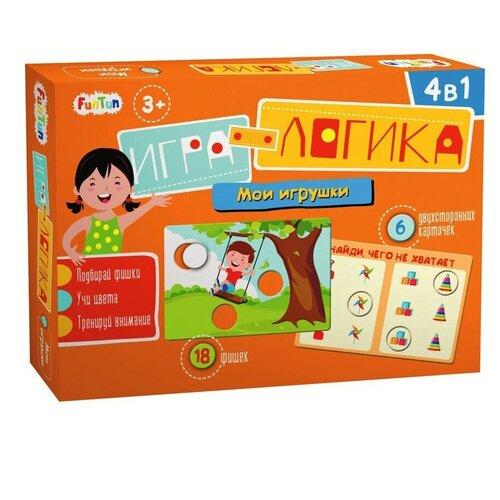Купить Настольная игра FunTun Игра-логика Мои игрушки, Настольные игры