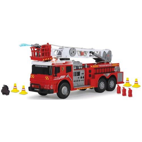 Фото - Пожарный автомобиль Dickie Toys 3719015, 62 см, красный гидроцикл dickie toys пожарный сэм джуно с фигуркой и аксессуарами 9251662 красный желтый