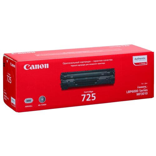 Фото - Картридж Canon 725 (3484B005/3484B002) картридж nvprint cartridge 725 для canon 725 lbp6000 1600 стр