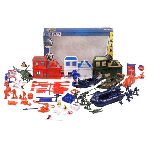 Игровой набор детский Солдатики с техникой