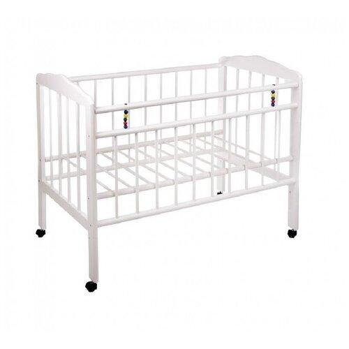 Кроватка ЧП Смирнов Женечка-1 (качалка) белый