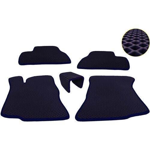 Автомобильные коврики EVA (ромб) для Toyota RAV4 III (XA30) (стандартая база) (2005-2014)