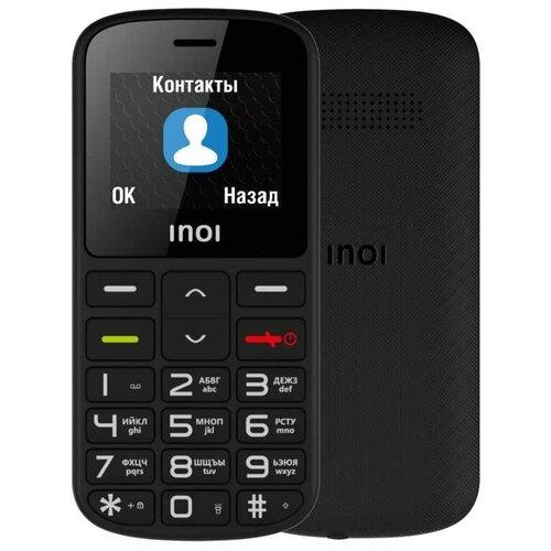 Телефон INOI 103B, черный мобильный телефон inoi 103b black