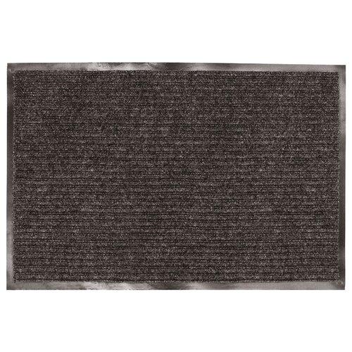 Придверный коврик Лайма Ворсовый влаго-грязезащитный, размер: 1.2х0.9 м, черный