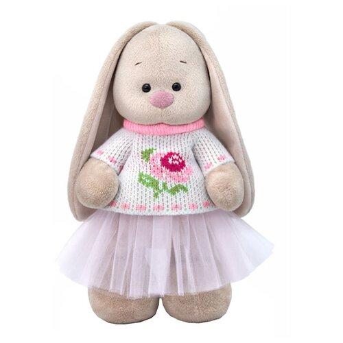 Фото - Мягкая игрушка Зайка Ми в жаккардовом свитере и юбке 32 см мягкая игрушка зайка ми в лиловом 23 см