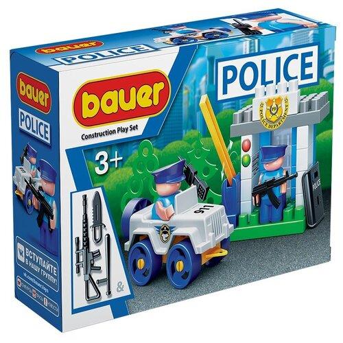 Конструктор Bauer Полиция 628-48 КПП