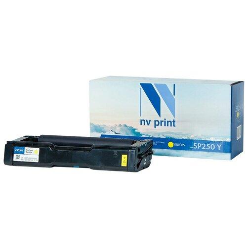 Фото - Картридж NV Print SP250 Yellow для Ricoh, совместимый картридж nv print sp3400 для ricoh совместимый