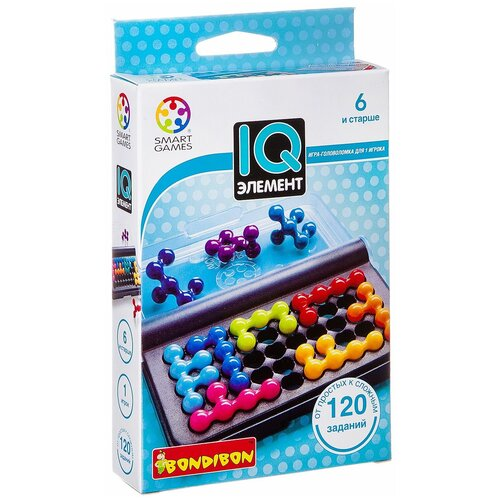 Головоломка BONDIBON Smart Games IQ-Элемент (ВВ0941) головоломка bondibon smart games iq конфетки вв1353