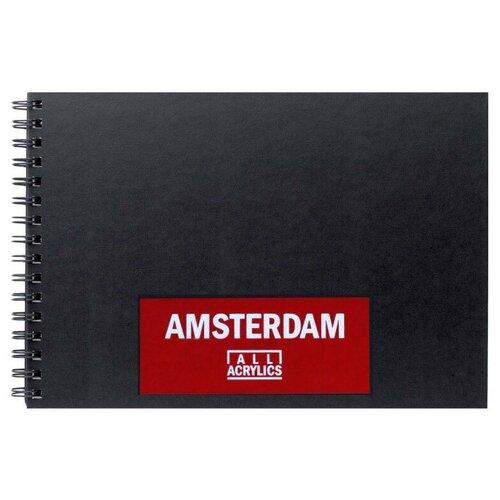 Фото - Альбом для акрила Royal Talens Amsterdam 35 х 21 см, 250 г/м², 30 л. альбом для акварели royal talens rembrandt 32 х 24 см 300 г м² 20 л