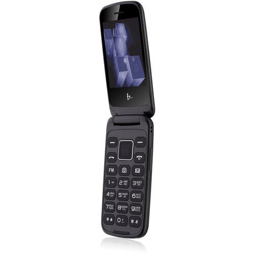 Телефон F+ Flip 3, черный