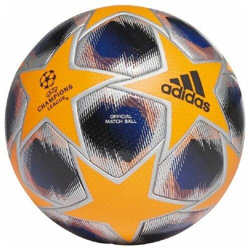 мяч футбольный adidas conext19 tcpt dn8636 белый желтый оранжевый размер 5 Мяч футбольный Adidas Finale 20 PRO WTR арт.FS0262 р.5