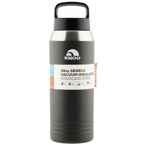 Классический термос Igloo Seneca 36, 1 л asphalt