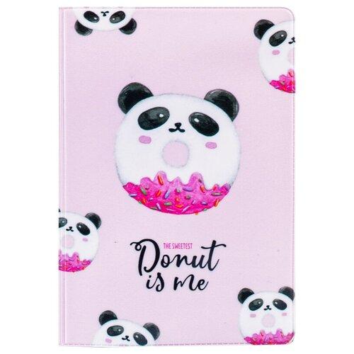 Обложка для паспорта MESHU Donut, розовый