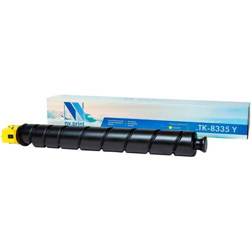 Фото - Картридж NV Print TK-8335 Yellow для Kyocera, совместимый картридж nv print tk 895 yellow для kyocera совместимый