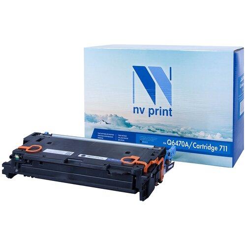 Фото - Картридж NV Print Q6470A/711 Black для HP и Canon, совместимый картридж nv print q6473a 711 magenta для hp и canon совместимый