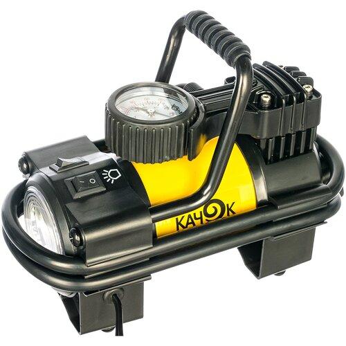 Автомобильный компрессор Качок K90 LED желтый