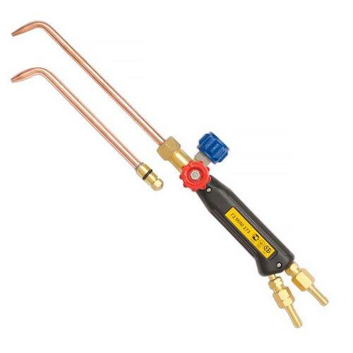 Фото - Газосварочная горелка инжекторная ДОНМЕТ MINI ДМ 273 газосварочная горелка инжекторная донмет гзу 247
